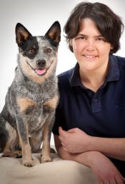 Tierärztin Sandra Bogs, Tierarzt Chiropraktik, Veterinärchiropraktik, Australian cattle dog, Chiropractor